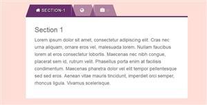 炫酷Bootstrap美化Tabs选项卡插件