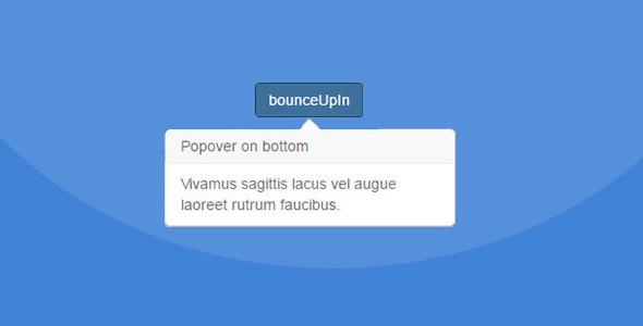 精美Bootstrap模态窗口气泡提示框插件