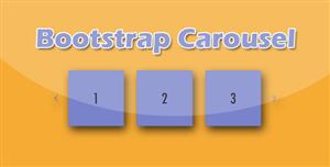 Bootstrap旋转木马轮播jQuery插件