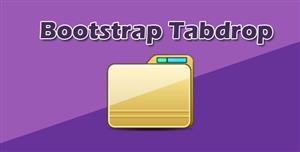 简单Bootstrap选项卡下拉列表框插件