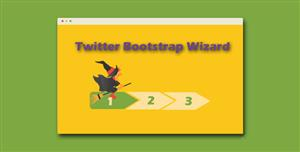 Bootstrap和jQuery用户向导分步骤插件