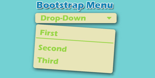 Bootstrap下拉菜单动画效果jQuery插件