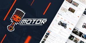 Bootstrap摩托车及配件电商HTML5模板