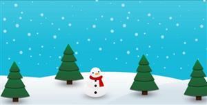 纯CSS3下实现雪动画网页背景