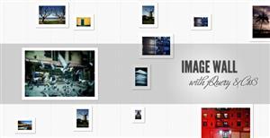 jQuery逼真的照片墙效果CSS3画廊