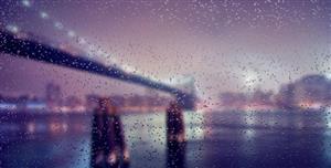 模拟雨滴落在玻璃表面效果rainyday.js