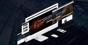 Bootstrap比特币挖矿业务HTML模板