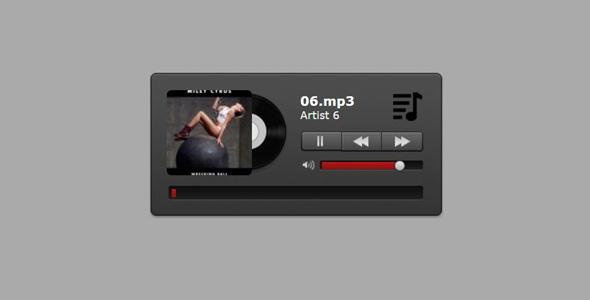 jQuery和HTML5音乐播放器插件