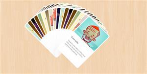 jQuery卡片扇形展开动画插件