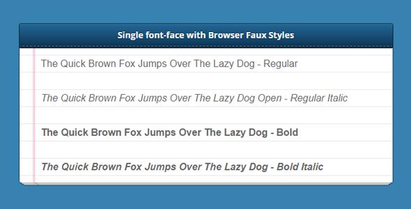 CSS3实现记事本样式文本