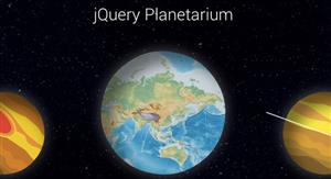 js宇宙行星5种自转动画效果