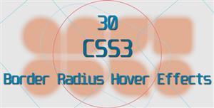 CSS3图片悬停变形动画