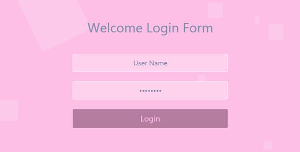 登录页面html代码表单样式