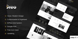 Bootstrap创意着陆页单页HTML5模板