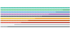纯css3斑马条纹进度条加载动画效果
