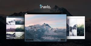 响应式摄影图片网站HTML5模板