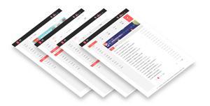 自媒体网站用户管理中心HTML模板