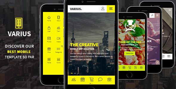 手机医疗美容网站HTML5模板App框架
