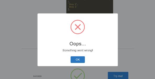 jQuery弹窗对话框模态窗口插件