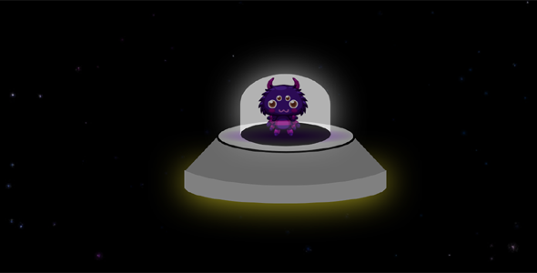 外星飞船CSS3动画代码