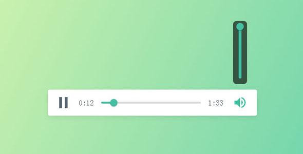 jQuery简约音乐播放器插件代码源码下载