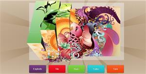 jQuery图片切换3D效果插件