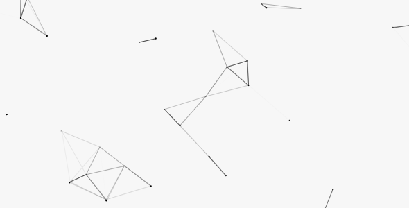 canvas网页粒子动画背景