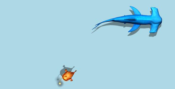 CSS3实现鱼在水里游动画效果源码下载