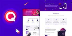 创意电商购物Bootstrap模板