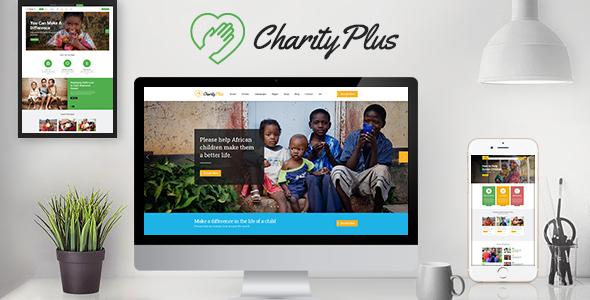 Bootstrap慈善组织HTML5模板