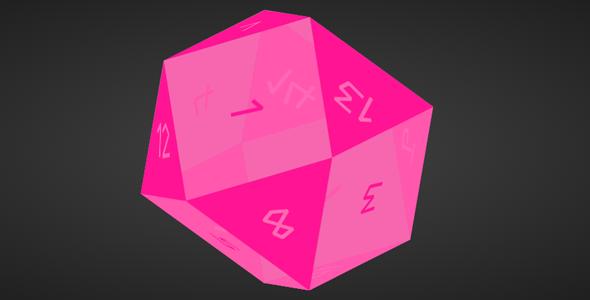 纯css3立体骰子旋转动画源码下载