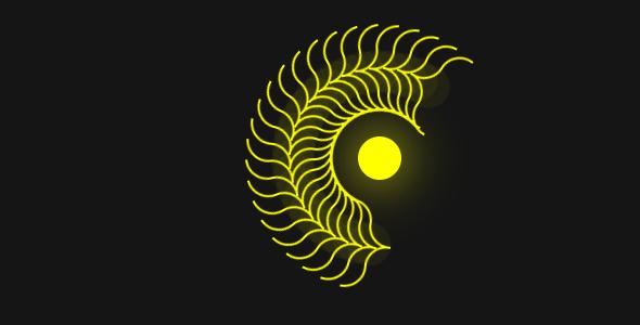 css3蜈蚣绕着太阳转动画