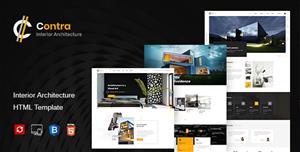 Bootstrap建筑公司室内设计网站模板