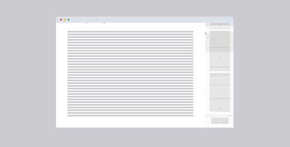 canvas实现页面右侧mini导航面板插件