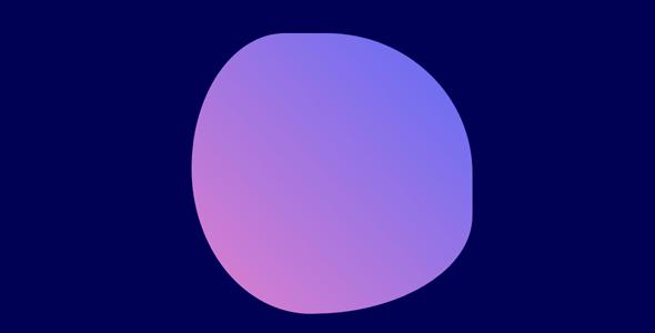 css3边框变形无规则动画特效