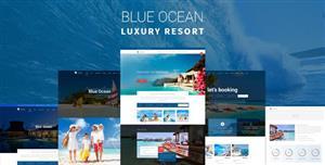 大气精美的旅游网站HTML模板