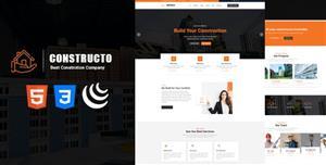 响应式建筑公司装修服务HTML模板