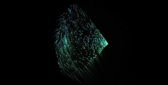 js粒子变幻图形动画特效