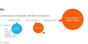 grumble.js圆形气泡tooltip提示插件