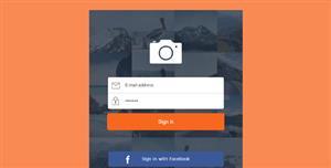 响应式HTML登录页面