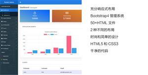 通用的后台管理系统HTML模板