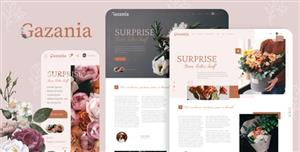 响应式鲜花电商网站HTML模板