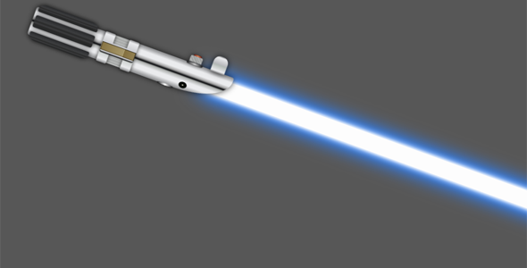 js+css3星战光剑代码带音效