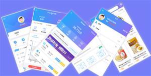 区块链加密货币交易app静态模板