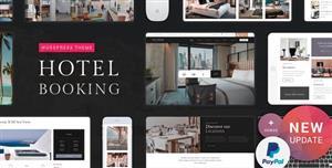 响应式WordPress酒店预订网站模板下载