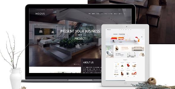时尚的家具购物网站WooCommerce主题