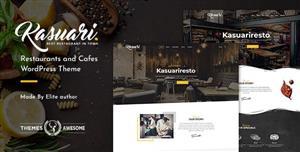 餐厅和咖啡厅WordPress主题模板