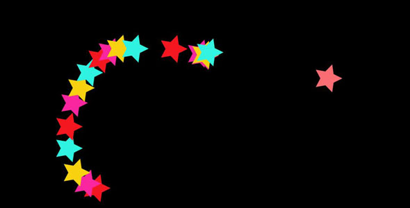 TweenMax+SVG五角星鼠标跟随特效代码