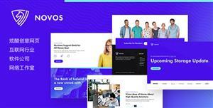 炫酷创意IT公司工作室网站模板