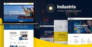 响应式铁路船舶制造厂网站HTML5模板